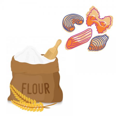 Farines i pastes