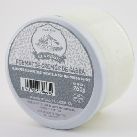 formatge cremós cabra
