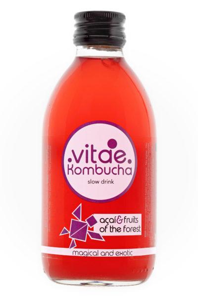 Kombucha Açai i fruits del bosc